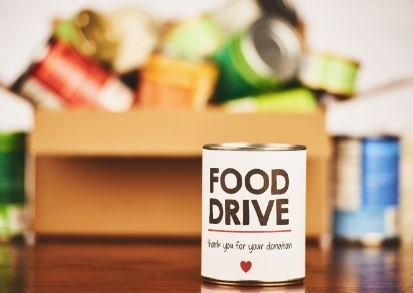 Thank you for donating to the Food Drive to benefit People Helping People!